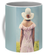 Woman With Hat Coffee Mug