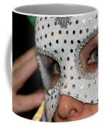 Woman With Mask Coffee Mug