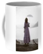 Woman With Parasol Coffee Mug