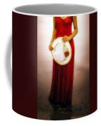 Woman With Straw Hat Coffee Mug by Joana Kruse