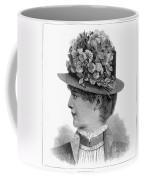 Womans Hat, 1883 Coffee Mug