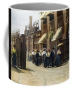 Women Leaving Work, 1895 Coffee Mug