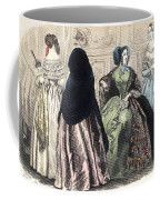 Womens Fashion, C1850 Coffee Mug