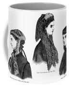 Womens Hats, 1868 Coffee Mug