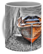 Wood Boat Coffee Mug
