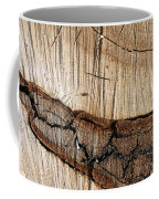 Wood Design Coffee Mug