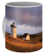 Wood End Lighthouse Landscape Coffee Mug