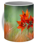 Wood Lily Coffee Mug