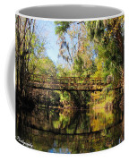Wooden Bridge Over The Hillsborough River Coffee Mug