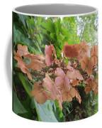 Wooden Hydrangea Coffee Mug