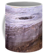 Wooden Ring Abstract Coffee Mug