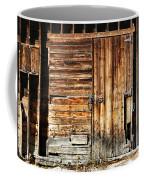 Wooden Slats Barn Coffee Mug