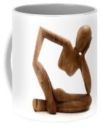 Wooden Statue Coffee Mug