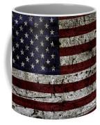 Wooden Textured Usa Flag2 Coffee Mug