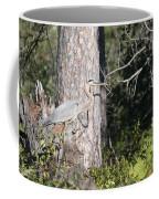 Woodland Great Blue Heron Coffee Mug
