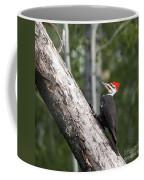 Woodpecker Sizes Me Up Coffee Mug
