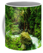 Working Around The Big Rock   Coffee Mug