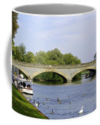 Workman Bridge And The River Avon Coffee Mug