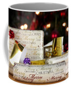 Wrapped Gifts With Tags Coffee Mug