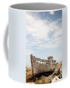 Wrecked Boat Coffee Mug