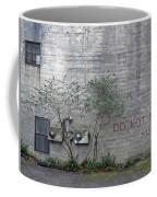 Writing On The Wall  Coffee Mug
