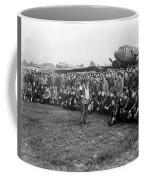 Wwii Artillery Commander Gives Pilots Coffee Mug