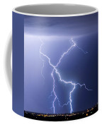 X Lightning Bolt In The Sky Coffee Mug