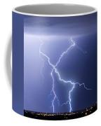 X Lightning Bolt In The Sky Coffee Mug
