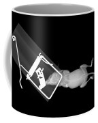 X-ray Of A Mouse Caught In A Trap Coffee Mug