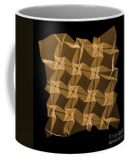 X-ray Of Mathematical Origami Coffee Mug