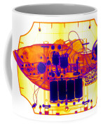 X-ray Of Mechanical Fish Coffee Mug