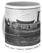 Yacht, 1882 Coffee Mug