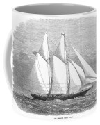 Yacht: Sappho, 1868 Coffee Mug