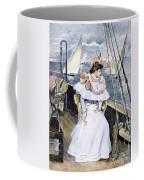 Yachting Costume, 1894 Coffee Mug