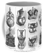 Yachting Trophies, 1871 Coffee Mug