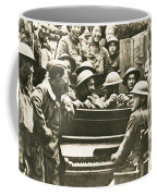 Yankee Soldiers Around A Piano Coffee Mug by Photo Researchers