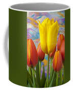 Yellow And Orange Tulips Coffee Mug