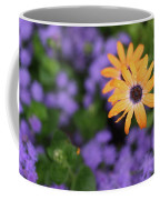Yellow And Purple Coffee Mug