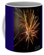 Yellow And Red Fireworks Coffee Mug