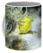 Yellow Angelfish Coffee Mug