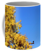 Yellow Autumn Tree Coffee Mug