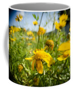 Yellow Blooming Wildflowers Coffee Mug