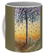 Yellow-blossomed Wishing Tree Coffee Mug