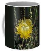 Yellow Cactus Flower Coffee Mug