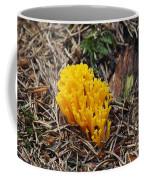 Yellow Coral Mushroom Coffee Mug