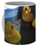 Yellow Rubber Duckies  Coffee Mug