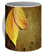 Yellow Fall Leafs Coffee Mug