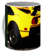 Yellow Ferrari Coffee Mug