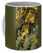 Yellow Flowers On Tree Coffee Mug