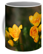 Yellow Flowers Coffee Mug